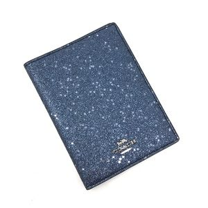 Coach Midnight Passport Case